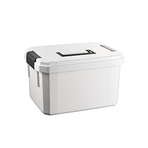 Wihgfcv Caja médica Caja de Medicina portátil para el hogar Kit de Primeros Auxilios multifuncionales Caja de Almacenamiento de plástico Multifuncional Hospital Farmacia Caja de Primeros Auxilios