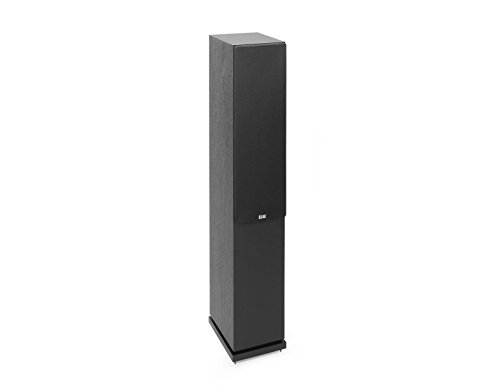 Review Elac Debut 2.0 F5.2 Floorstanding Speaker, Black (Each)