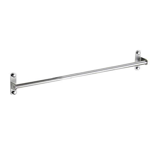 LXJLXJ Montado en la Pared de Acero Inoxidable Barra Porta Toallas Toallas Bar Simple Soporte de Accesorios de baño