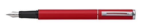 Sheaffer 300 - Pluma estilográfica sheaffer award rojo mate