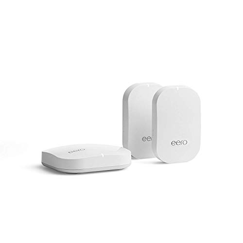 Certified Refurbished eero Pro mesh WiFi System (1 Pro + 2 Beacons)