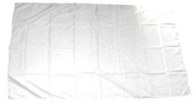Fahne Stockflagge Weiß zum Bemalen 30 x 45 cm Flagge