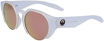 Dragon Alliance Compass Men's Matte Crystal Round Sunglasses