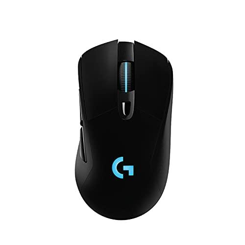 Logitech G703 LIGHTSPEED Souris Gamer sans Fil, 25 600 PPP, RVB Gaming, Ultra-Léger, 6 Boutons Programmables,...