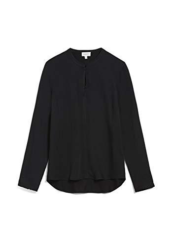 ARMEDANGELS FREYAA - Damen Bluse aus LENZING ECOVERO XS Black Bluse Langarm Regular...