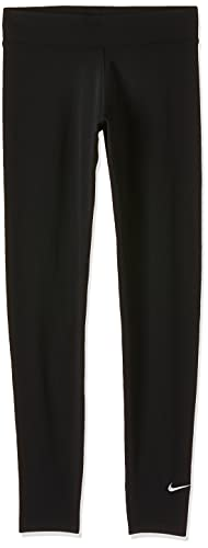 Nike Damen Sportswear Essential Trainingshose, Schwarz-Weiss, L