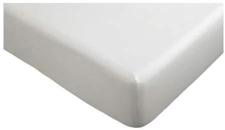 Ikea 2 x Spannbettlaken, weiß, 90 x 200 cm