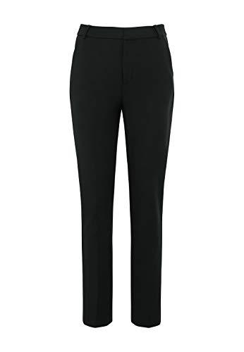 HALLHUBER High-Waist-Hose mit Seitenpaspeln körpernah geschnitten schwarz, 36