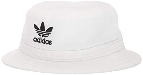 adidas Originals Lavar Cubo Sombrero de Sol, Unisex, Blanco/Negro