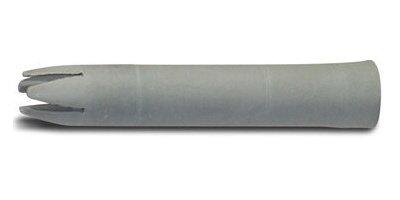 Unbekannt Garniertülle Ersatztülle Stecktülle grau 6,5 cm lang für viele ältere Sahnespender