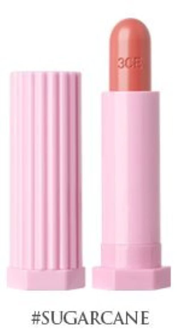 不振国旗申し込む3CE ラブベルベットリップスティック/ 3CE Love Velvet Lip Stick (#シュガーケーン) [並行輸入品]
