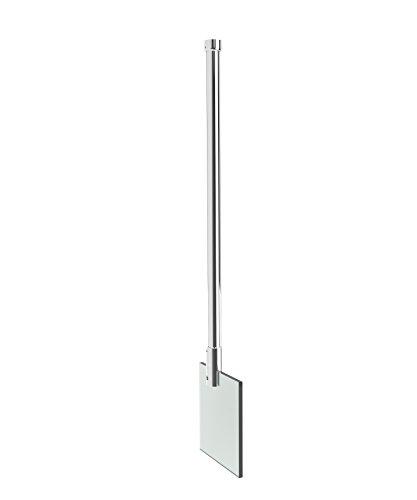 Schulte Stabilisator für 6-8 mm Glas, 85 cm kürzbar, Chromoptik, Haltestange für Glas/Decke Stabilisation, Deckenstrebe für Duschwand, Deckenhalterung, Deckenstabilisator