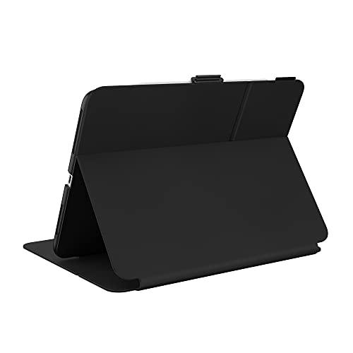 Speck Products Balance Funda Tipo Libro para iPad 2021/iPad Air (2020)/iPad Pro (2018-2020) 11 Pulgadas, con protección Microban, Negro/Negro