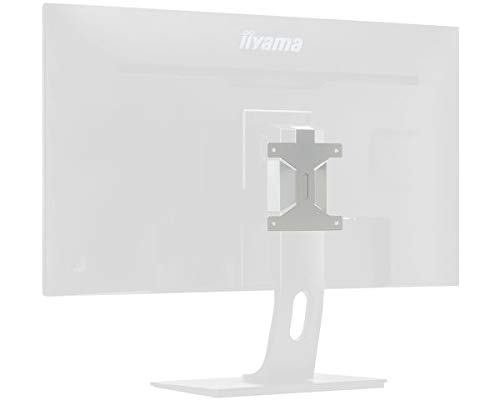 iiyama MD BRPCV04 VESA-houderkit (Vesa 100) voor mini-PC (Thinclient/Zeroclient PCs), zwart