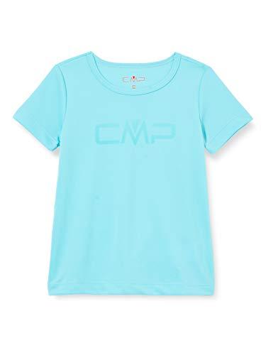 CMP – F.lli Campagnolo Mädchen Atmungsaktives T-Shirt mit CMP-Logo, Giada, 104, 39T5675P
