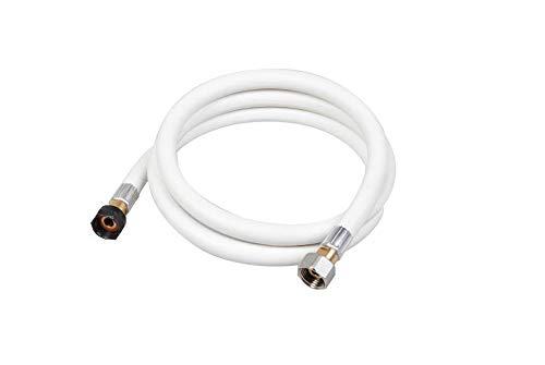 pas cher un bon Gaz domestique – GPL flexible, butane / propane – blanc – 1,5 mètre – date d'expiration 10 ans