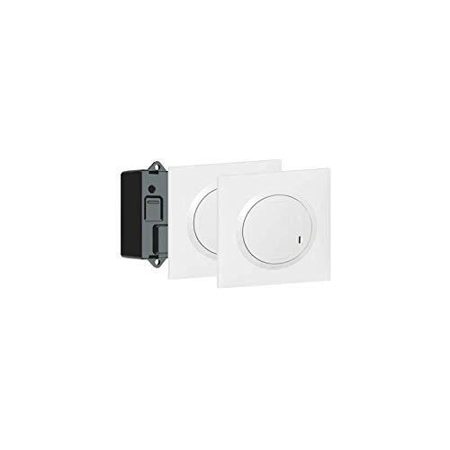 Legrand 600699 Prêt-à-poser dooxie créer un va-et-vient avec 2 commandes sans fil et 1 micromodule livré complet, blanc