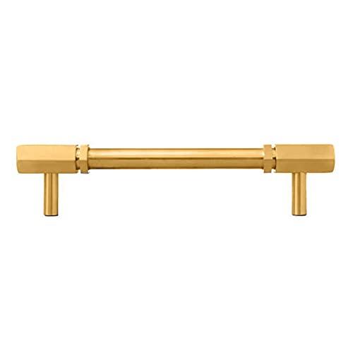 Tiradores de latón para armario Tiradores de barra en T Tirador de puerta de armario macizo Tiradores de armario Tiradores de armario Tirador de cobre para puerta de armario Tiradores de puerta de co