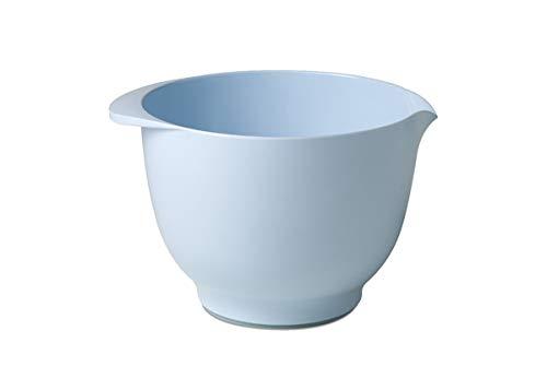 Rosti Mepal Margrethe Melamine Mixing Bowl, 2 Quart, Nordic Blue