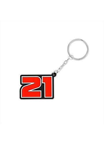 Valentino Rossi Collezione Troy Bayliss, Portachiavi 21 Uomo, Rosso, Unica
