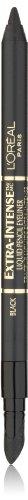 L'Oréal Paris Extra-Intense Pencil Eyeliner, Black, 0.03 oz. (Packaging May Vary)