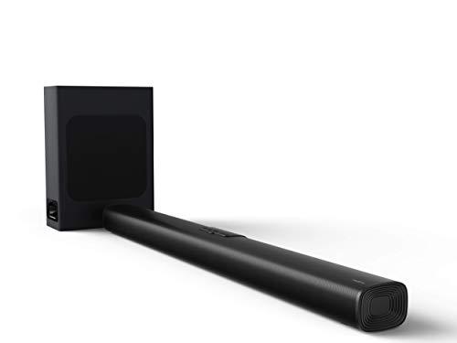 realme 100 W Bluetooth Soundbar (Black,2.1 Channel) with Wired Subwoofer