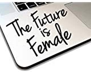 The Future is Female Decal _ Vinyl motivational STICKER for laptop journal,wall or car (black) (3