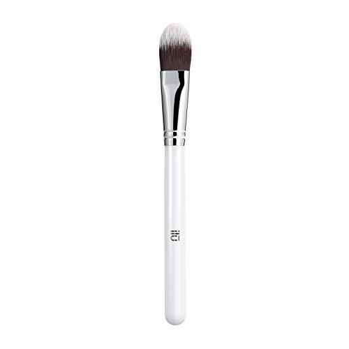 T4B ILU 113 Pinceau Professionnel Plat pour Fond de Teint Maquillage Professionnel, 1 Pièce