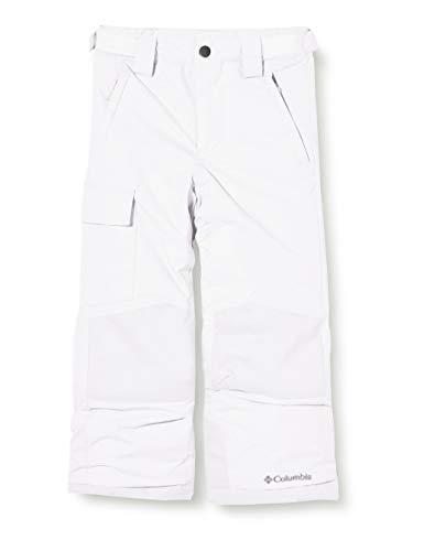 Columbia Enfant Pantalon de Ski Imperméable, Bugaboo II Pant, Nylon, Blanc, Taille XL, 1806712