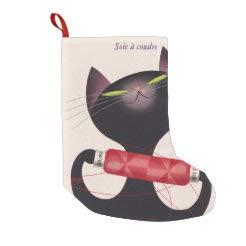Donald Brun Weihnachtsstrümpfe, Zwicky Cat Poster, Polyester, hängende Ornamente für Kamin, Weihnachtsbaum, Urlaub, Party, 25,4 x 40,6 cm