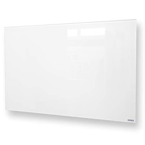 VASNER Citara G - Glas Infrarotheizung, 450-900 Watt, Elektroheizung Wandmontage & Deckenmontage, energiesparend, elektrisch, Badezimmer, IPX4 (700 Watt)