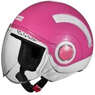 Studds Nano Helmet White/Pink (560MM)