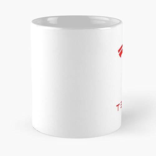 X Coffee Electric Vehicle Tesla 3 S Model Motors Y Best Taza de café de cerámica de 315 ml Eat Food Bite John Best Taza de café de cerámica de 315 ml