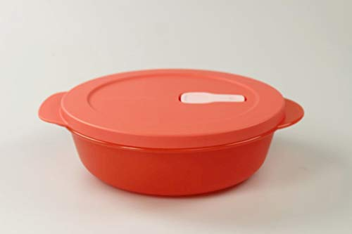 Tupperware 36819 CrystalWave - Microondas (1,0 L), color salmón
