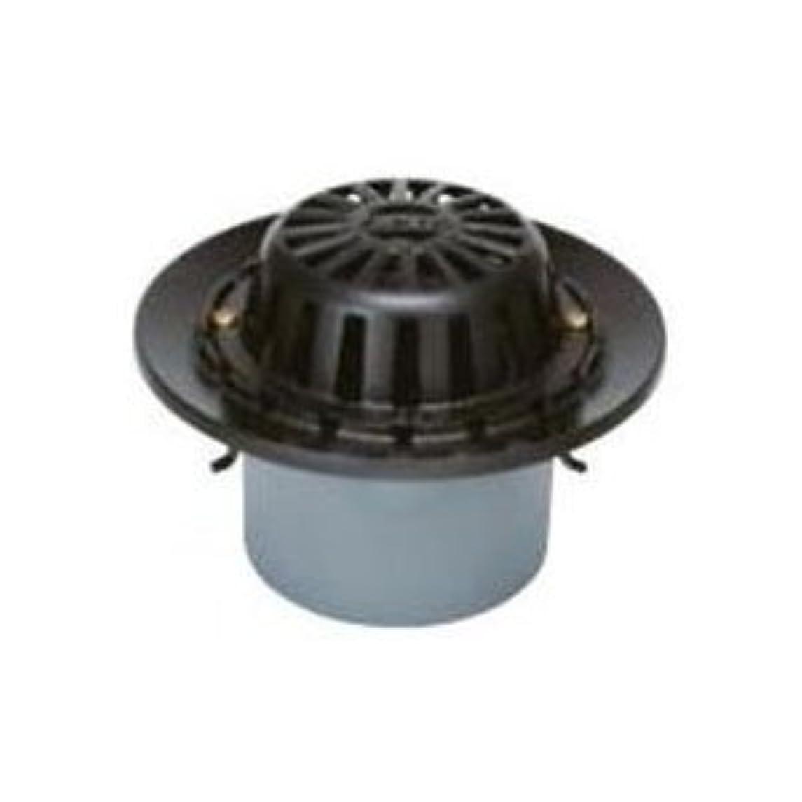 大気権利を与える寝具カネソウ 鋳鉄製ルーフドレイン たて引き用 打込型 バルコニー 庇?屋上用(呼称100) WMR-1-100