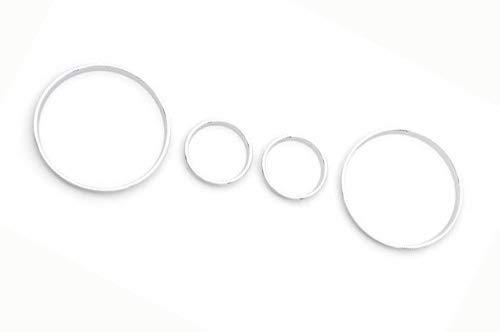 NAWQK Chrome Styling Tablero de Instrumentos de cepo fijado for el BMW E39