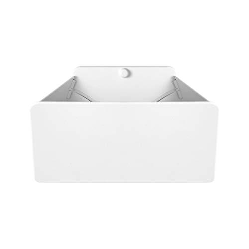 YUYAN Caja de almacenamiento plegable de pared para auriculares de PS5, soporte organizador para auriculares y controladores de PS5 para iPhone 12