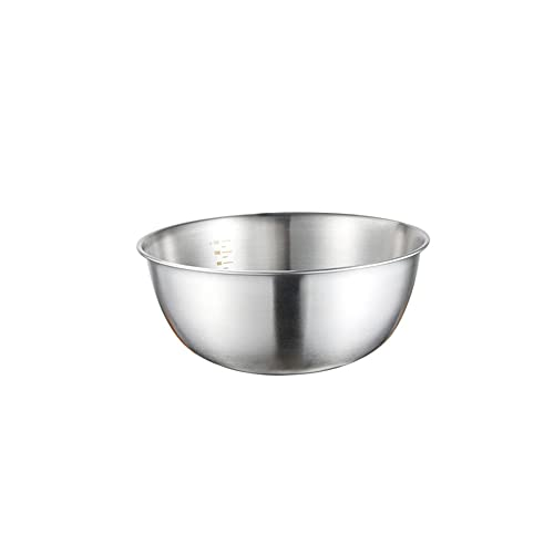 Mixing bowls, thick non-slip bowl, mixing bowls for kitchen, multifunctional mixing bowl, chrome steel mixer, fruit meals container