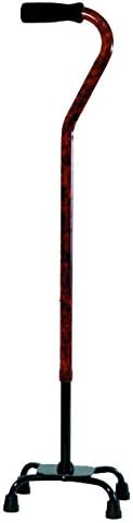 Essential Medical Supply Designer Shipping Popular shop is the lowest price challenge included Small Burl Quad Cane Base with