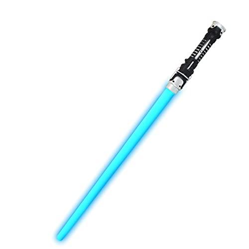 ABCSS Espadas láser,Juguetes con sables de luz de Star Wars,Palos de luz,Juguetes con Espadas Brillantes para niños,Armas con Espadas/niños