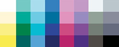 Großer Farbpass Wintertyp 32 Farben Winter, Farbkarte, Winterfarben Wintertyp,kalter Farbtyp, Farbfächer, Farbberatung, Typberatung, Farbkarten, Farbpalette
