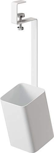 山崎実業(Yamazaki) 洗面戸棚下ブラシホルダー ホワイト 約W6.5XD9XH28cm タワー 浮かせて収納 収納ボックス 5012