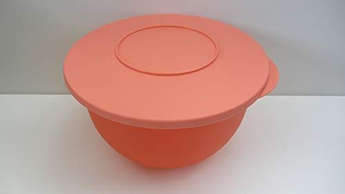 Tupperware Junge Welle lachs orange 2,5 Liter Schüssel mit Deckel