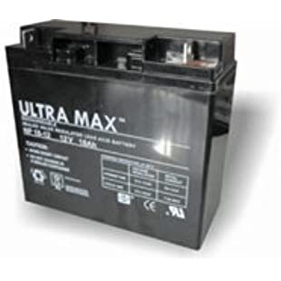 Lawnmower Battery Ultramax 12V 18Ah - (Replaces F19-12B)