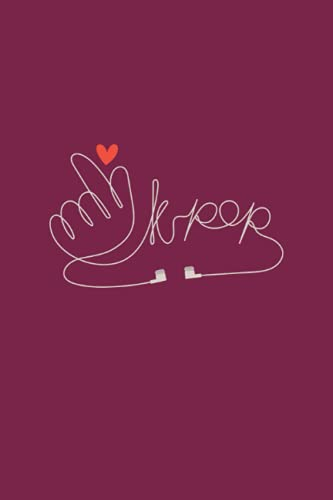 K-Pop Designed Notebook: Creative Korean Pop Designed Notebook Cover | Perfect For Writing And Drawing By A Fandom