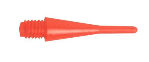 100 Stück Profi Dart Spitzen 2ba kl. Gewinde Farbe Rot 805402
