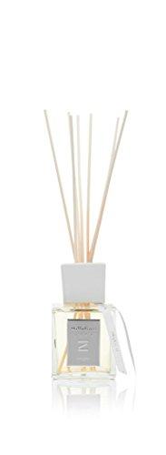 Millefiori Oxygen Luxuriöser Raumduft Diffuser Zona 250 ml inklusive Stäbchen, Glas, Gelb, 8.3 x 9.5 x 31.2 cm