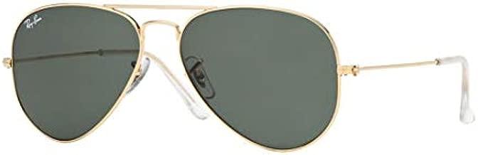 New RAY BAN RB3025 Aviator Sunglasses - Gold (L0205)