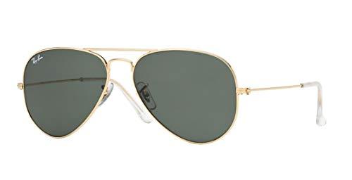 New RAY BAN RB3025 Aviator Sunglasses - Gold ...