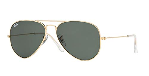 New RAY BAN RB3025 Aviator Sunglasses - Gold (L0205)